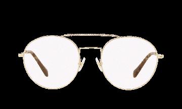 Miu Miu Unisex Core Collection Mu 51rv Gold Size: Standard