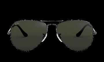 Ray-Ban Unisex Aviator Classic Grey Size: Standard