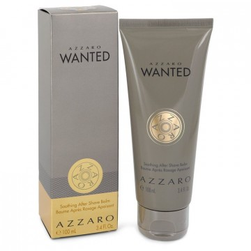 Azzaro Wanted Shave by Azzaro 3.4 oz After Shave Balm for Men