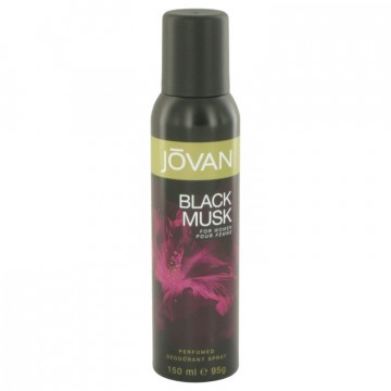 Jovan Black Musk Deodorant by Jovan 5 oz Deodorant Spray for Women