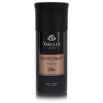 Yardley Gentleman Elite Deodorant 5 oz Deodorant Body Spray for Men
