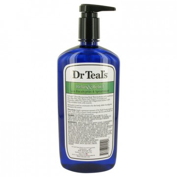 Dr Teal's Body Wash With Pure Epsom Salt Body Lotion 24 oz Body Wash with pure epsom salt with eucalyptus & Spearmint for Women