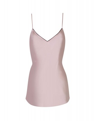 Agent Provocateur Classic Camisole In Pink Silk