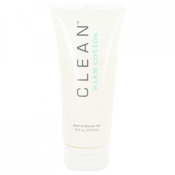 Clean Warm Cotton Shower Gel by Clean 6 oz Shower Gel for Women