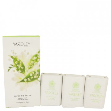 Lily Of The Valley Yardley Soap 3.5 oz 3 x 3.5 oz Soap for Women