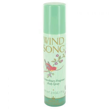 Wind Song Deodorant 2.5 oz Deodorant Spray for Women