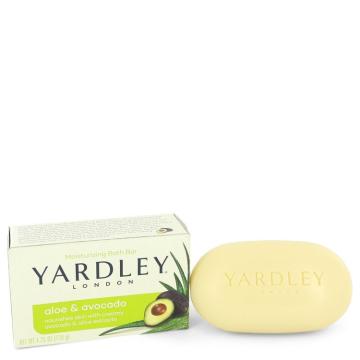 Yardley London Soaps Soap 4.25 oz Aloe & Avocado Naturally Moisturizing Bath Bar for Women