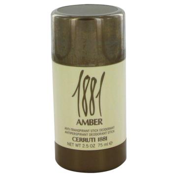 1881 Amber Deodorant by Nino Cerruti 2.5 oz Deodorant Stick for Men