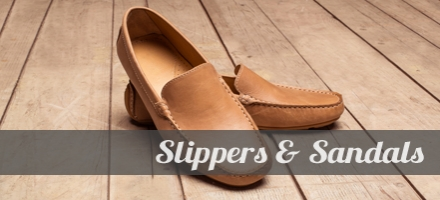 Slippers and Sandals for Men.