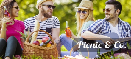 Be prepared for a spontaneous picnic with your family or friends, with these helpful accessories.