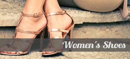 Shoes for women. From athletics to high heels.