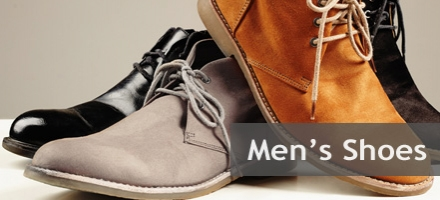 Shoes for Men from business to leisure.