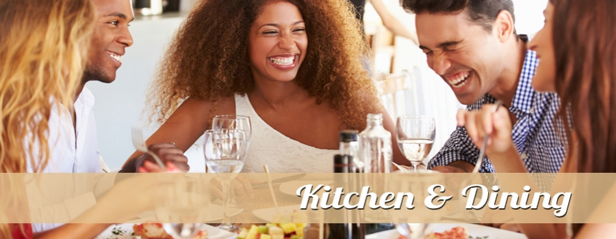 Everything you need to celebrate and enjoy cooking, baking or dining.